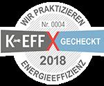 Keff Label online Vignette